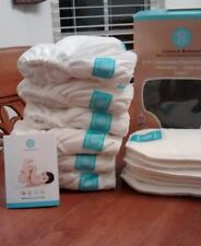 New Cloth Diapers: Charlie Banana, size small (7-18lbs), 6 diapers + 12 inserts