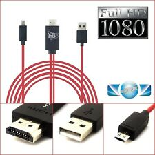 1080P MHL Micro USB HDMI HDTV ADAPTER CABLE FOR SAMSUNG GALAXY S3 S4 S5 NOTE 2,3