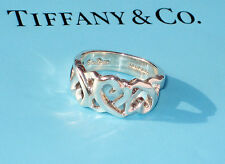 Tiffany & Co. Sterling Silver Paloma Picasso Size 7 Loving Heart Ring