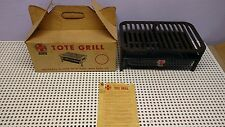 Vintage Griswold Tote Grill, Cast Iron Grill top, With Box,NOS