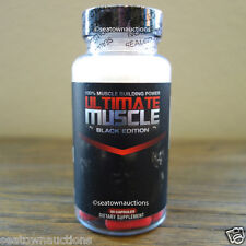 Ultimate Muscle Black Edition 100% Muscle Building Power - Get Ripped! X