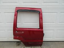 02-07 JEEP LIBERTY RIGHT REAR DOOR SHELL PANEL PRH INFERNO RED PEARL RR RH R OEM
