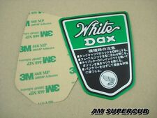 Emblem FRAME HONDA DAX White Lady CT70 ST70 ST50  Decal // Japan