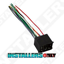 AFTERMARKET CAR STEREO/RADIO WIRING HARNESS, BMW 8590 WIRE ADAPTER/PLUG