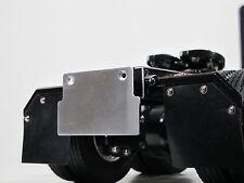 Custom relocate Aluminum License Plate Bracket Tamiya 1/14 Any Semi King Hauler