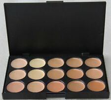 15 Colors Face Powder Cream Pro Contour Makeup Concealer Palette Camouflage IB