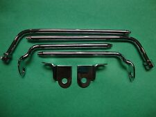 (8214) Jaguar XKE Roadster Series 1 ,2  & 3 Sunvisor Bracket Set