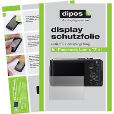 6x dipos Panasonic Lumix DMC TZ41 matte Displayschutzfolie Antireflex Testsieger