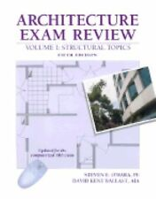 Architecture Exam Review, Vol. 1: Structural Topics, 5th Edition
