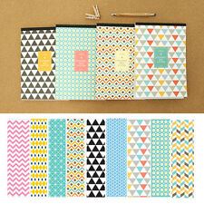 63sheets Colorful Dynamic Pattern Letter Lined Writing Stationery Paper Pad
