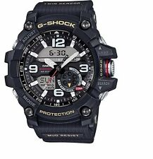 Casio GG-1000-1A DR G-Shock Mudmaster Twin Sensor Ana-Digital Men's Watch Black