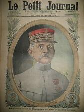 WW1 GENERAL MARCHAND ALLEMAGNE EMEUTES DE BERLIN PHOTOS LE PETIT JOURNAL 1916