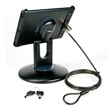IPAD AIR 1 2 ANTI THEFT SECURITY STATION BLACK MOUNT DESK TABLE DISPLAY STAND
