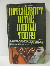 Witchcraft in the World Today by C.H. Wallace (1967)1st First printing paperback
