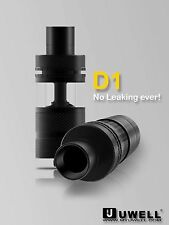 Uwell D1 Sub-Ohm Tank Anti-Leaking Design Top Airflow 100% AUTHENTIC - Black