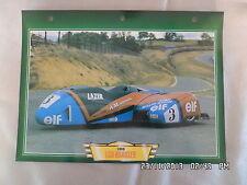 CARTE FICHE MOTO LCR KRAUSER 1990