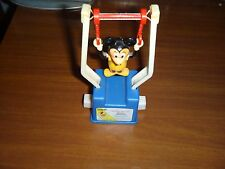 VINTAGE 1975 GABRIEL/DISNEY MICKEY MOUSE TRAPEZE PUSH BUTTON ACROBAT TOY