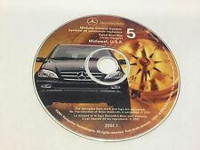 2000 2001 MERCEDES ML320 ML430 ML500 NAVIGATION MAP CD 5 MIDWEST IL IN MI OH WI