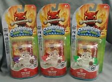 Skylanders Swap Force Frito Lay Clear All 3 Purple Red Green Fire Bone Hot Dog
