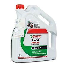 5 (1x5) Liter Castrol GTX High Mileage 5W-40 MB 229.3/ VW 502 00/ BMW LL-01