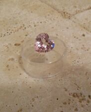 7.05 Ct TOP Quality VVS Heart Cut Pink SAPPHIRE Loose Gemstone Ready to Set!