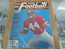1977 Street And Smiths Official Yearbook Ben Zambiasi Georgia Bulldogs Cover
