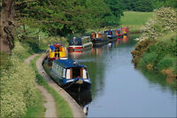796027 Blackwater Meadow Marina Shropshire Union Canal England A4 Photo Print