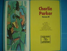 LP CHARLIE PARKER VOLUME III PRESSING USA EVEREST NUOVO