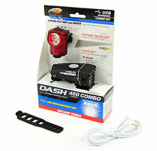 Cygolite Dash 460 Headlight & Hotshot Micro 30 Bicycle Tail Light Set