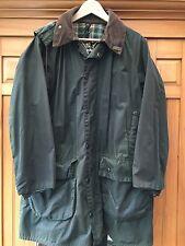 BARBOUR Gamefair Vintage Medium/Large Green Wax Jacket