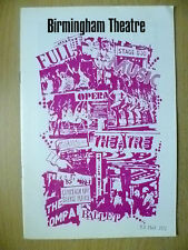 B'Ham Theatre Programme 1972- JOHN HANSON,L Gray,T Adams,C Dor in SMILIN THROUGH