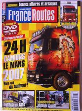 France Route n°307; Essai Actros 1855 Bluetec 5/ 24 Heures du Mans Camion
