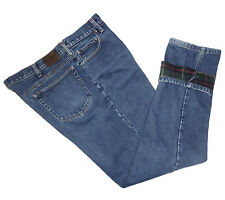Lands' End, Flannel Lined Straight Leg Jeans, size 40 x 33