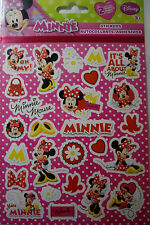 NEW DISNEY MINNIE MOUSE Hearts Bows Daisies Shoes Miss Minnie SANDYLION STICKERS