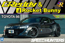 AOSHIMA TOYOTA GT86 GREDDY & ROCKET BUNNY SPEEDHUNTERS MODEL KIT *UK STOCK*