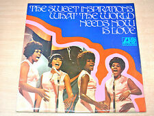 EX-/EX- !! The Sweet Inspirations/What The World Needs Now Is Love/1969 LP