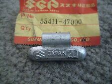 SUZUKI GS/GS750/GS550 WHEEL BALANCER WEIGHT 20G NOS!