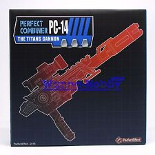 Perfect Effect PC14 PC-14 Fortress Maximus The Titans Cannon MISB IN STOCK