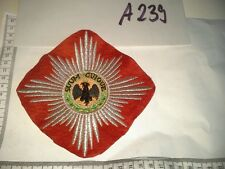 Bruststern Orden Emblem Gardestern, GDC, Garde du corps, supraweste A239