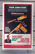 The Man with the Golden Gun Lobby Card Movie Poster