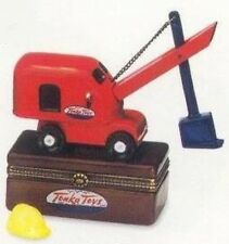 Tonka Crane Truck Mighty Mike PHB Porcelain Hinged Box  Midwest Cannon Falls