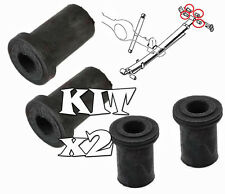Set of Rear Suspension Leaf Spring Shackle Hanger Bush Bushes Mitsubishi L200