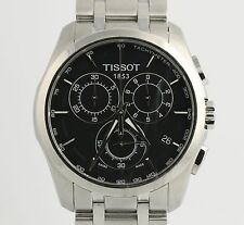 Tissot Couturier Men's Watch T0356617A - Stainless Steel w/ Box Tachymeter