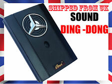Wired Sound 220V Doorbell Mounted DING DONG Ring Chime ELECTRONIC Door Bell  @UK