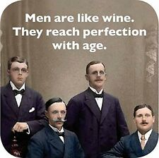 Men Are Like Wine..Perfection funny  fridge magnet   (cw)