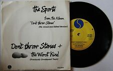 The Sports Don't Throw Stones UK 7in 1980 Oz Powerpop