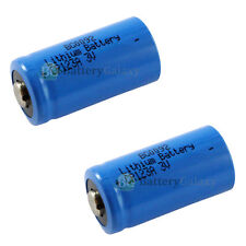 2 X Lithium Photo CR123A CR123 CR 123A 123 battery US