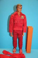 6 Six million Dollar man Doll figure Steve Austin with H beam and gripping hand