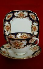 Stordimento ROYAL ALBERT CROWN VINTAGE Imari pattern TEA TRIO (C) 1927_1935