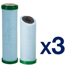 3pk 5 Micron Double layered Sediment and Carbon Filter